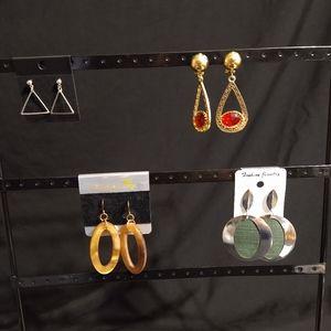 Women's new assorted earring bundle